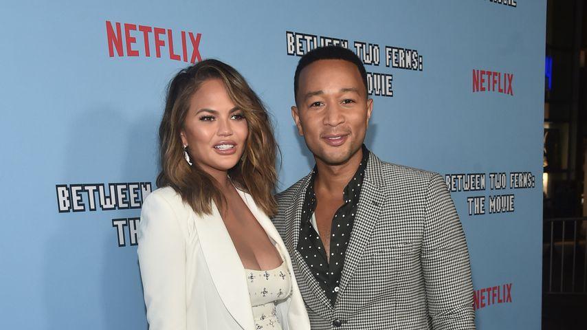 Chrissy Teigen und John Legend im September 2019 in Hollywood