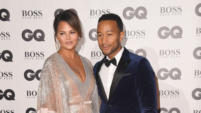 Chrissy Teigen und John Legend bei den GQ Men of the Year Awards