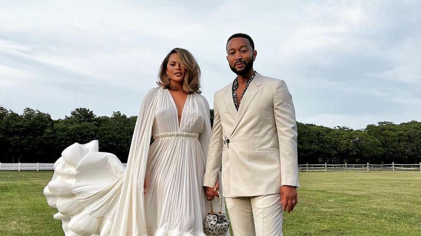 Chrissy Teigen und John Legend, August 2021