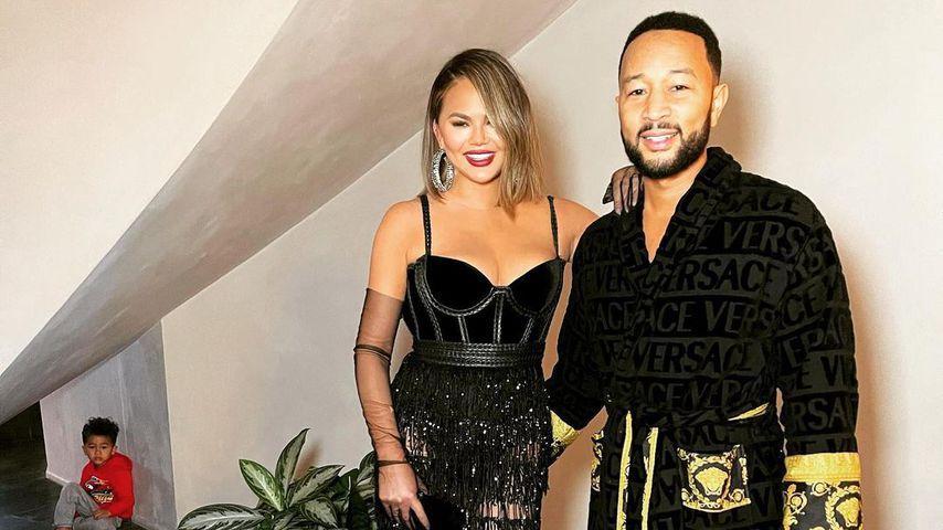 Chrissy Teigen und John Legend, März 2021