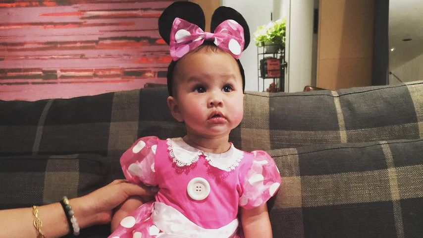 Chrissy Teigens Tochter Luna als Minnie Mouse