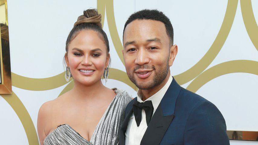 Chrissy Teigen und John Legend bei der Emmy Party von Hulu