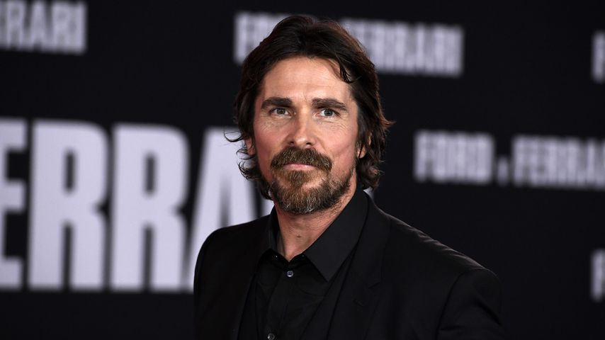 Christian Bale in Hollywood, 2019