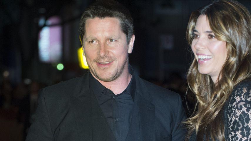 Christian Bale und Sibi Blažić, 2017