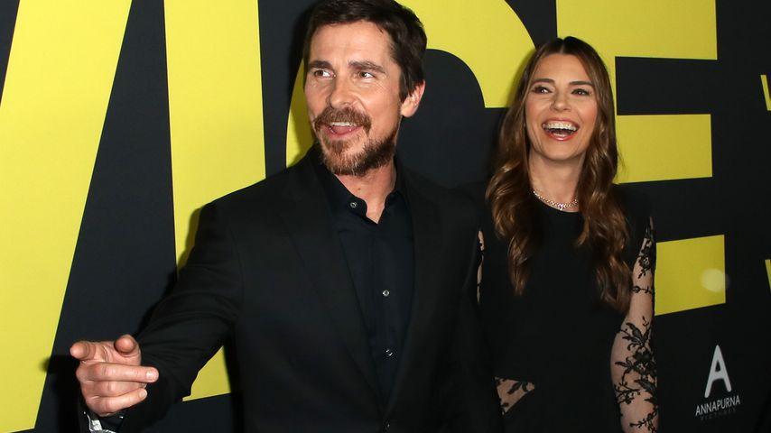 Christian Bale und seine Frau Sibi Blazic im Dezember 2018