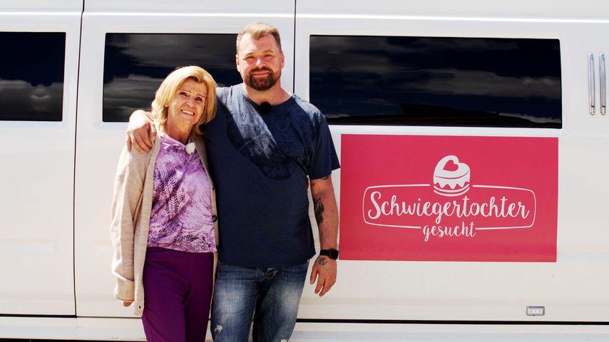 """Christian und seine Mama Veronika bei """"Schwiegertochter gesucht"""""""