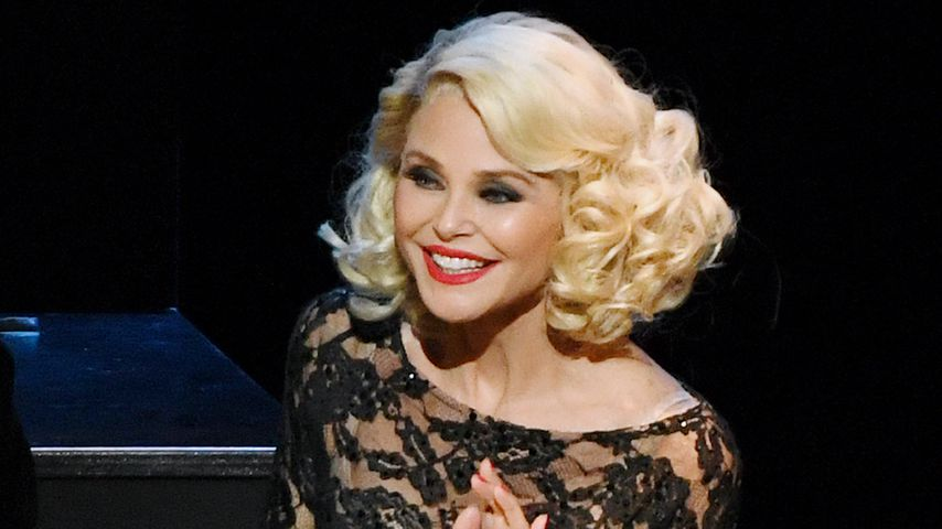"Christie Brinkley in dem Musical ""Chicago"""