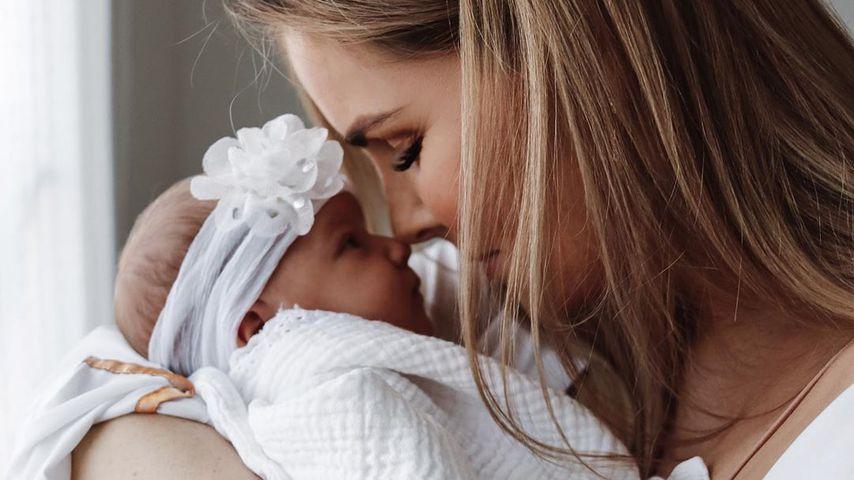 Christin Kaebers Tochter Nia soll zweisprachig aufwachsen