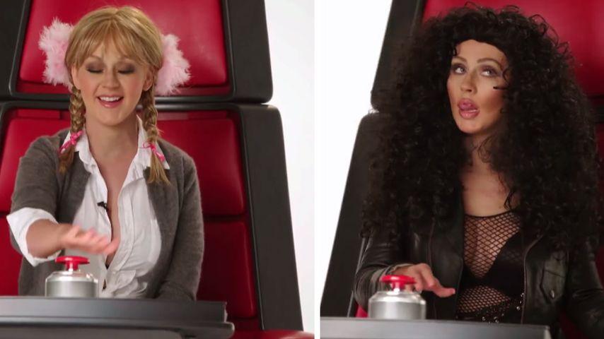 Britney, Cher, Miley: Christina Aguilera kann sie alle!