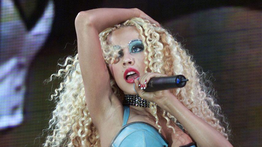 Christina Aguilera beim Wango Tango 2001