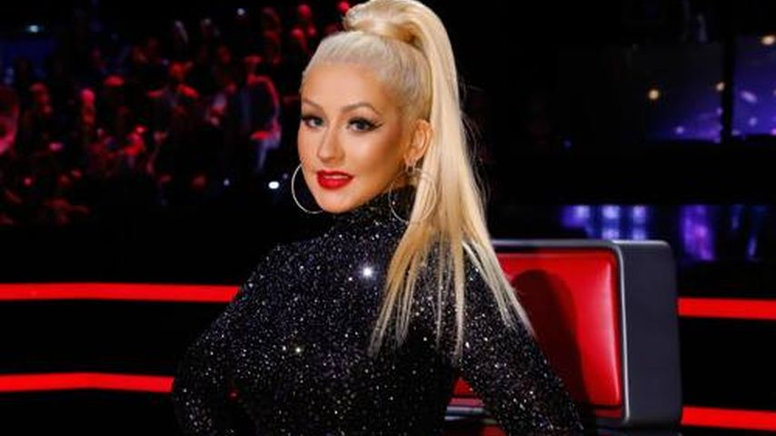 "Christina Aguilera von ""The Voice""-Crew fies gedisst!"