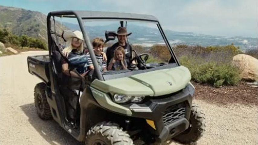 Selten: Christina Aguilera zeigt ihre Familie ganz privat