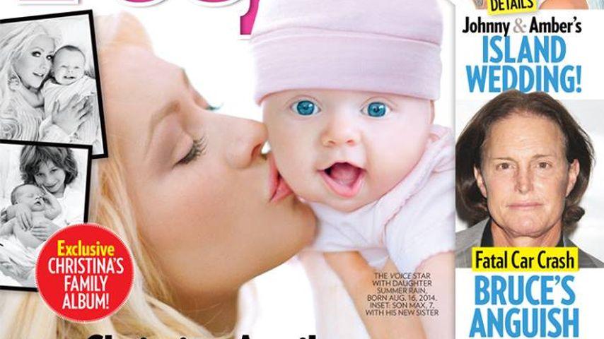 Endlich! Christina Aguilera zeigt ihr Baby Summer