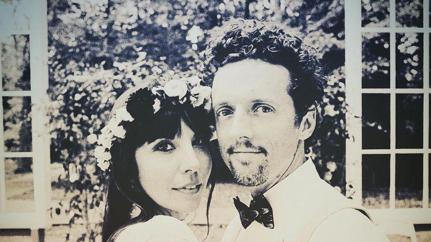 Christina Carano und Jason Mraz an ihrem Hochzeitstag
