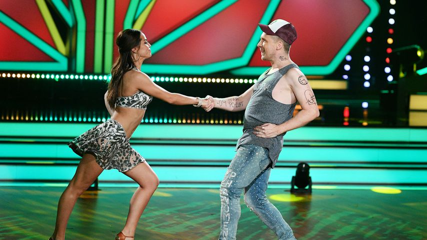 """Christina Luft und Oliver Pocher in der ersten """"Let's Dance""""-Show 2019"""