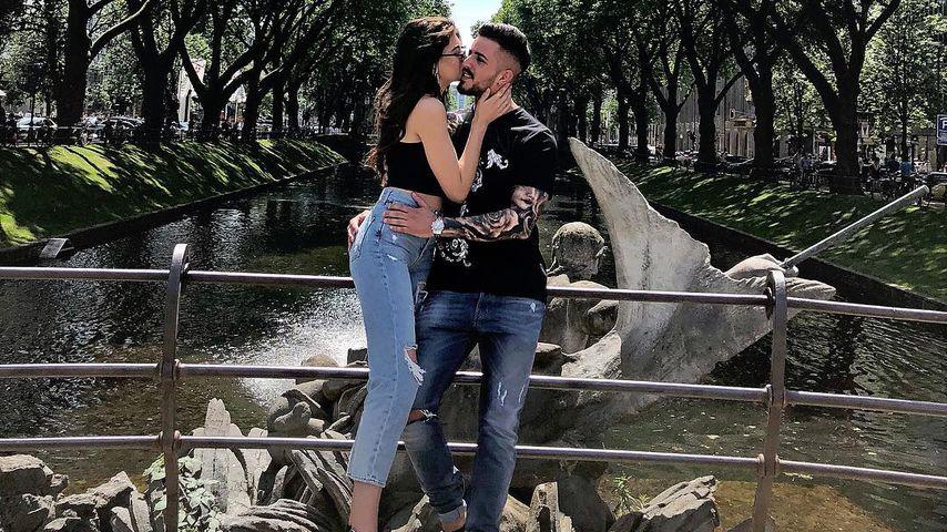 Christina Peno mit ihrem Ex-Freund