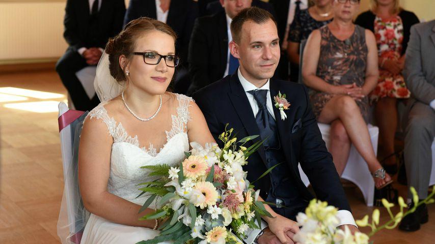 """Christina und Julian in der 4. Staffel von """"Hochzeit auf den ersten Blick"""""""