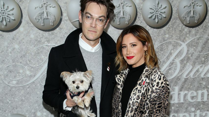 Christopher French und Ashley Tisdale im Dezember 2019 in West Hollywood