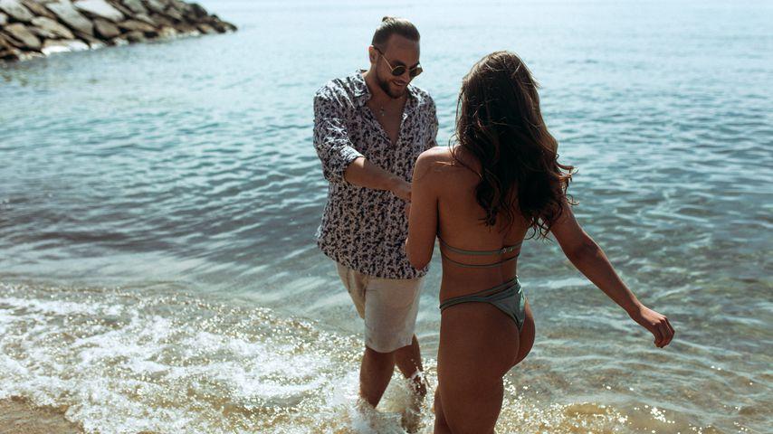 """Christos Christodoulou beim Videodreh zu """"Nur du"""""""