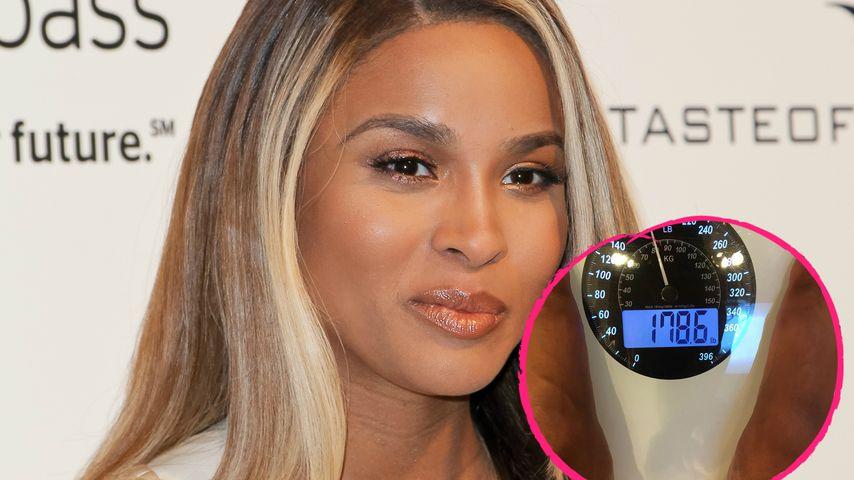 Kilo-Kampf: Ciara wird ihre Baby-Pfunde einfach nicht los!