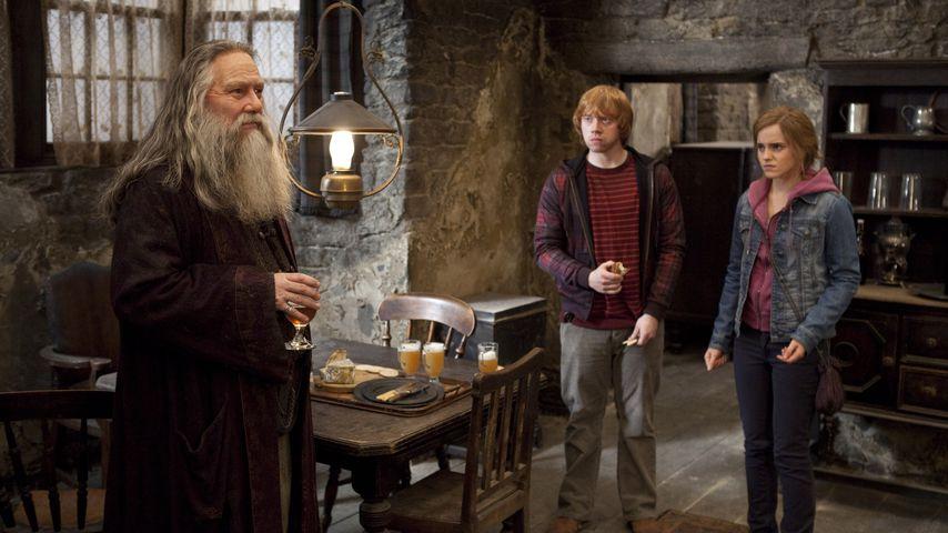 """Ciaran Hinds, Rupert Grant und Emma Watson in """"Harry Potter und die Heiligtümer des Todes: Teil 2"""""""