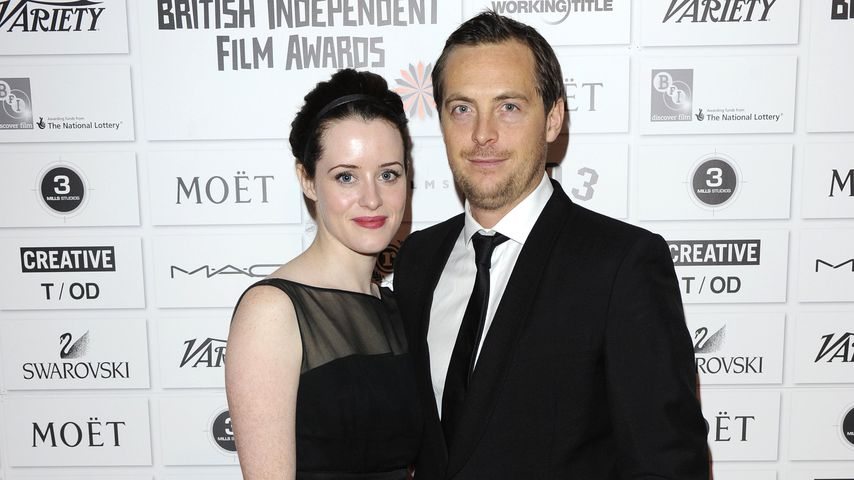 Claire Foy und Stephen Campbell Moore bei den Moet British Independent Film Awards