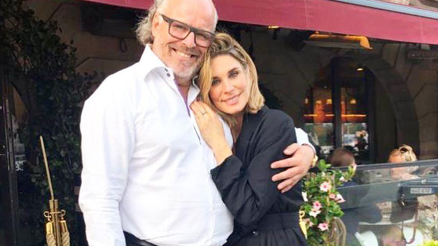 Claudelle Deckert mit Peter Olsson