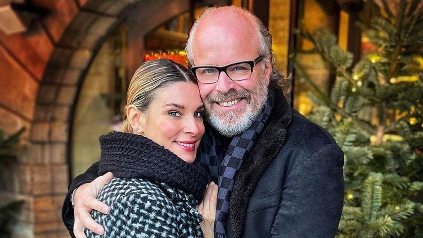 Claudelle Deckert und ihr Mann Peter Olsson