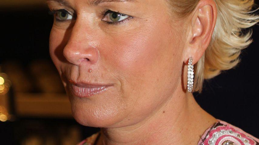 Sorry, Männer! Claudia Effenberg verteilt Körbe