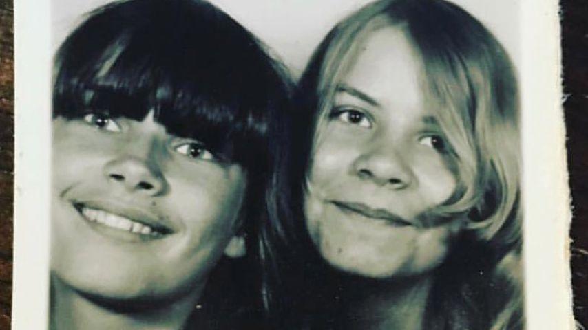 Claudia Effenberg mit ihrer Schwester Sabine