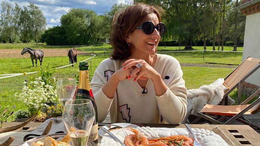 Claudia Obert auf dem Forsthof Nienhagen im Juni 2020