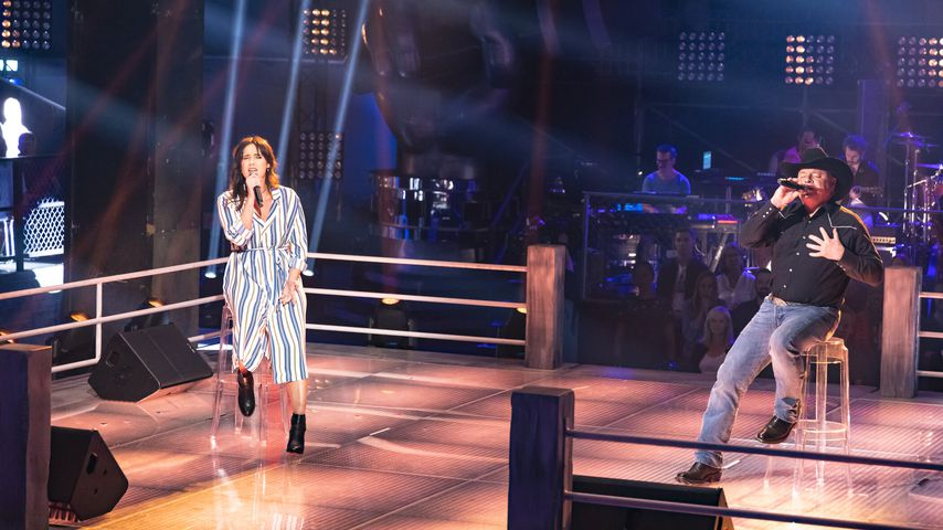 "Claudia Pahl und Douglas Adkins im ""The Voice""-Battle"
