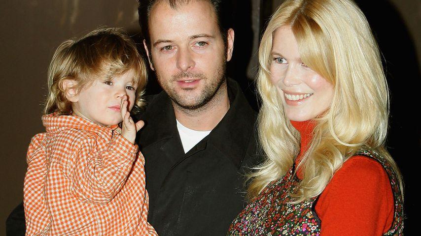 Claudia Schiffer mit ihrem Mann Matthew Vaughn und ihren Kindern