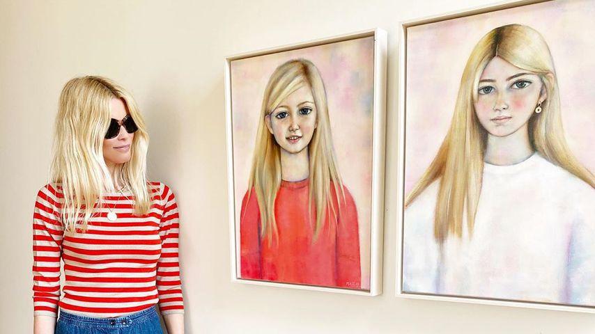 Seltener Anblick: Claudia Schiffer zeigt Portraits von Kids