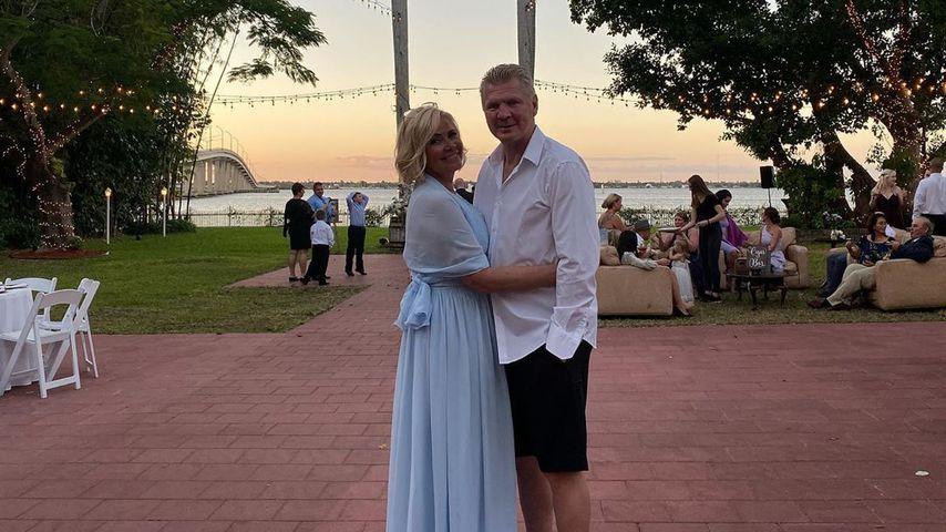 Claudia und Stefan Effenberg bei der Hochzeit von Stefans Tochter