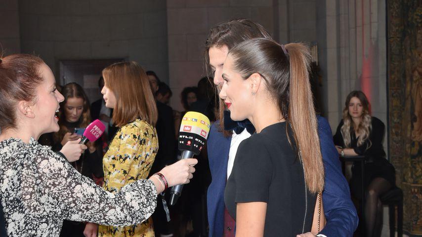 Clea-Lacy Juhn und Riccardo Basile bei der BMW Bunte Festival Night 2020