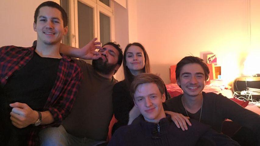 """Foto-Beweis: """"Club der roten Bänder""""-Stars sind gute Freunde"""