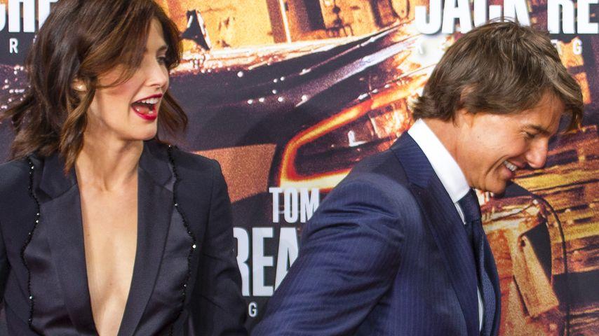 Cobie Smulders und Tom Cruise in Deutschland