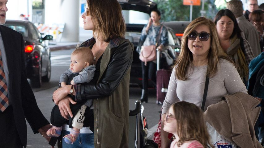 Cobie Smulders mit ihren Kindern