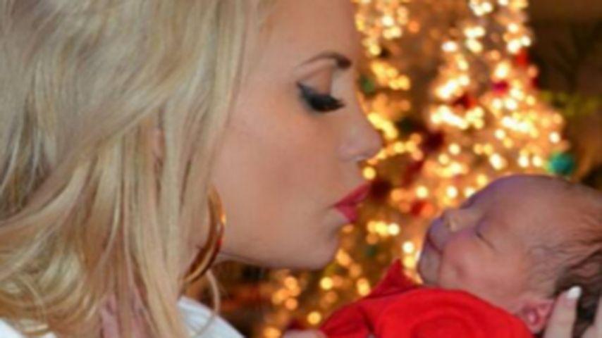 Coco und Chanel Nicole zu Weihnachten