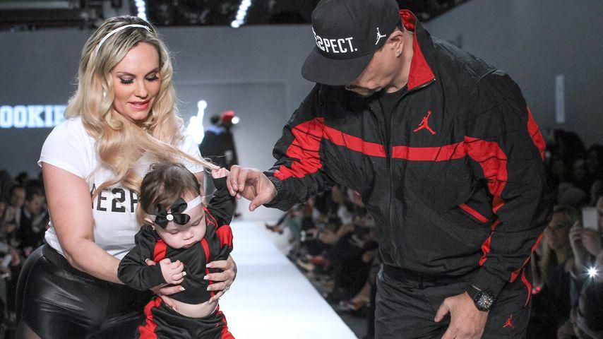 """Coco Austin und Ice-T mit ihrer Tochter Chanel auf dem Laufsteg der """"Rookie USA""""-Show"""