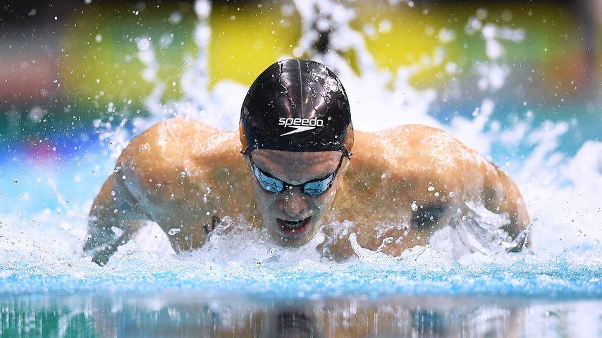 Cody Simpson beim Finale der Olympiaqualifikation in Adelaide