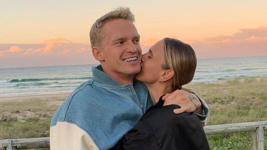 Cody Simpson und Marloes Stevens im Juni 2021