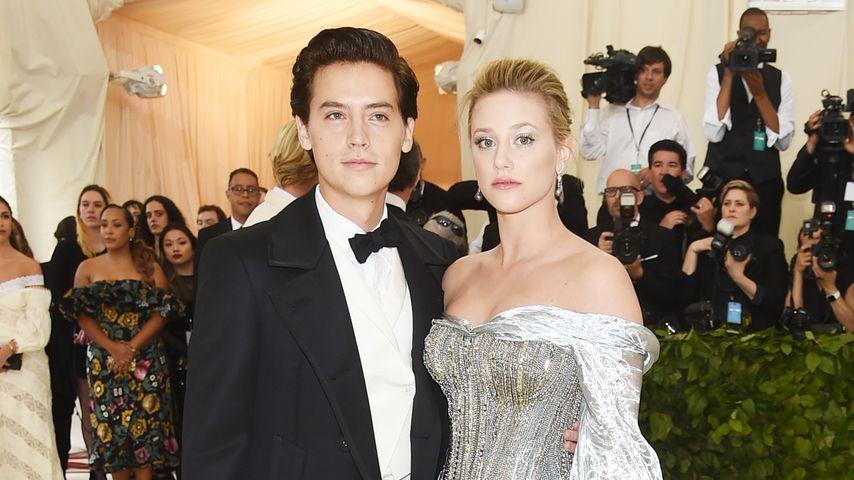 Cole Sprouse und Lili Reinhart bei der Met Gala 2018