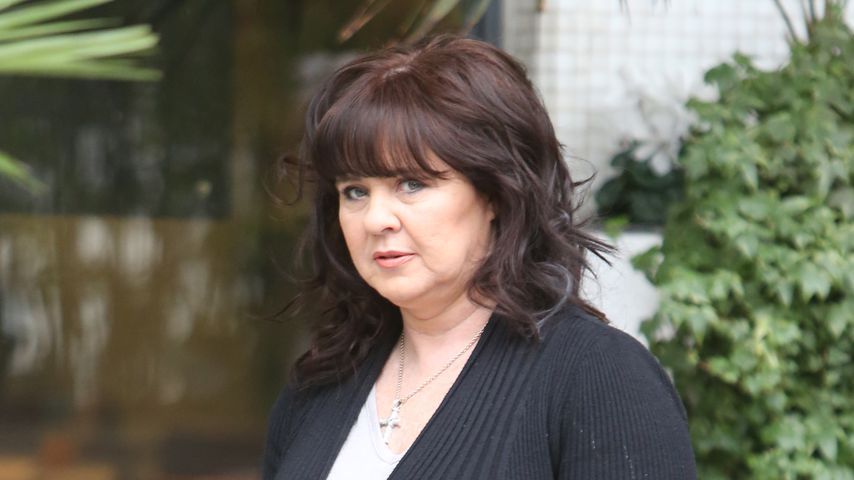Coleen Nolan vor den ITV-Studios in London