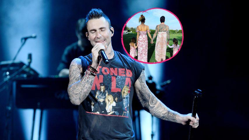 Im Sommerkleid: Adam Levine zeigt sich ungewohnt luftig