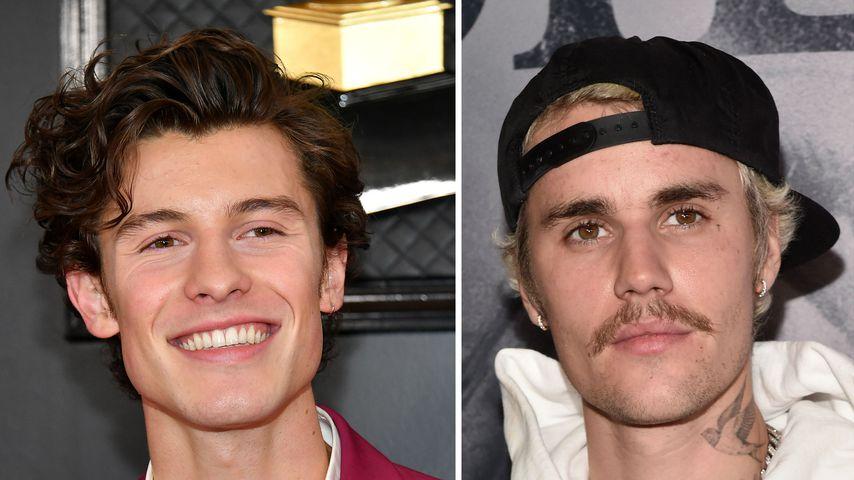 Aufgeklärt: Shawn Mendes und Justin Bieber waren nie Feinde!