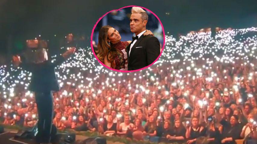 Mit Fan-Hilfe: Robbie Williams macht süße Liebeserklärung!