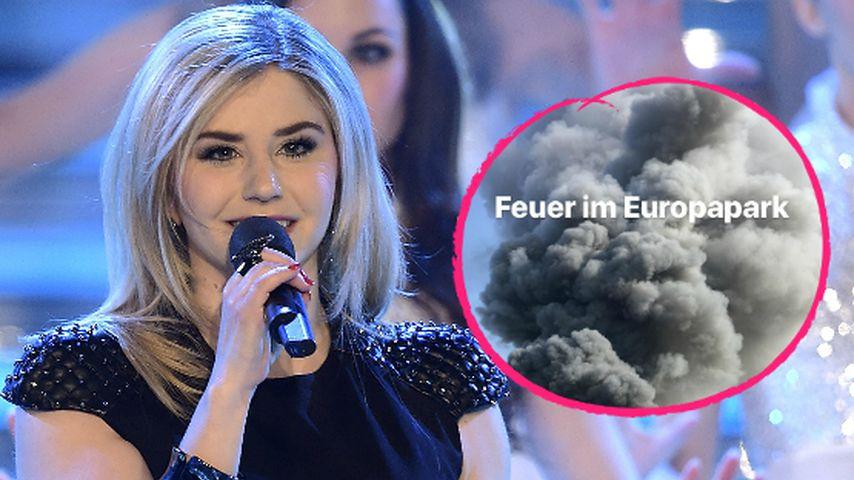 Beatrice Egli mittendrin: Großbrand im Europa-Park Rust!