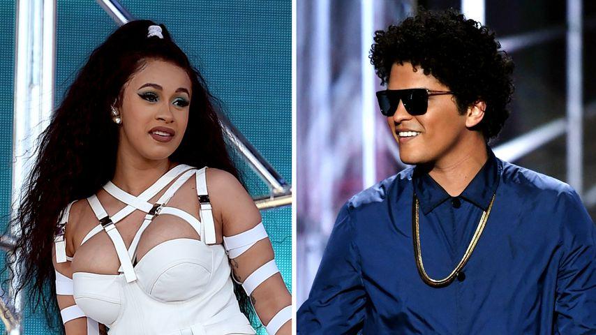 Wegen Mama-Stress: Cardi B sagt Konzerte mit Bruno Mars ab!